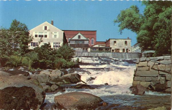 The Falls At Camden Maine