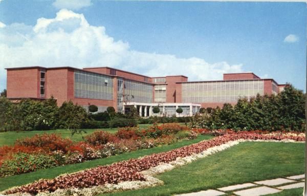 Horticultural Gardens And Student Services Building East Lansing Michigan