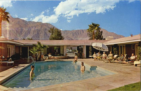 The Beautiful Mira Loma Hotel Palm Springs California