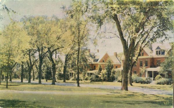 Family quarters on Grant Avenue Fort Leavenworth Kansas