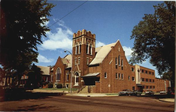 Grace Lutheran Church, Corner of Grand and Second Ave. Eau Claire Wisconsin