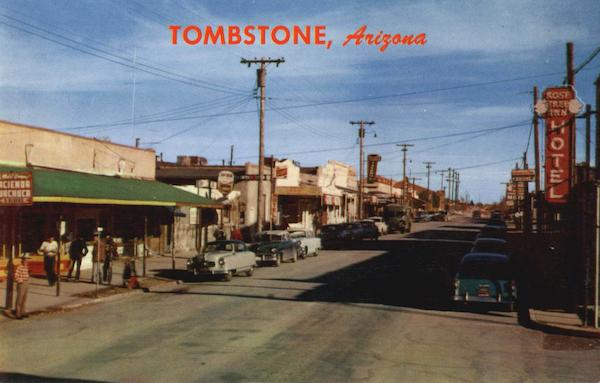 Tombstone, Allen Street Arizona