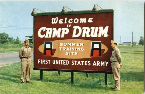 Welcome To Camp Drum Watertown New York Army