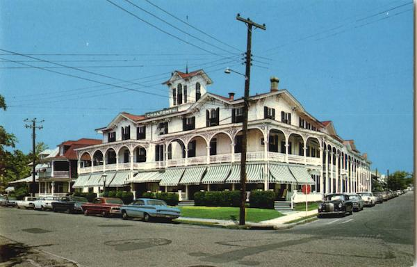 Chalfonte Hotel At Howard Street Cape May New Jersey