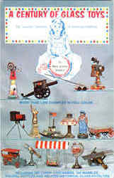 A Century Of Glass Toys Postcard
