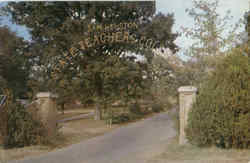 Entrance To Sam Houston State Teachers College