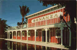 The Bonanza Room Escape Hotel Postcard