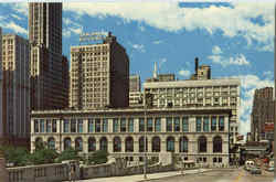 The Chicago Public Library Postcard