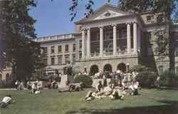 Bascom Hall Postcard