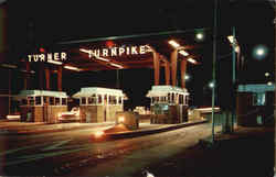 Main Entrance To Turner Turnpike