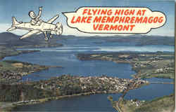 Flying High At Lake Memphremagog