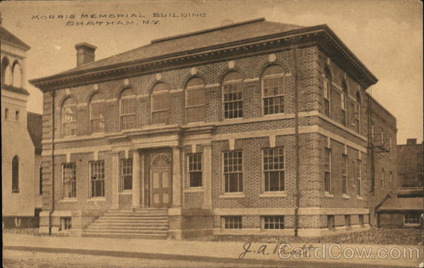 Morris Memorial Building Chatham New York