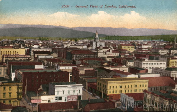 View of Town Eureka California