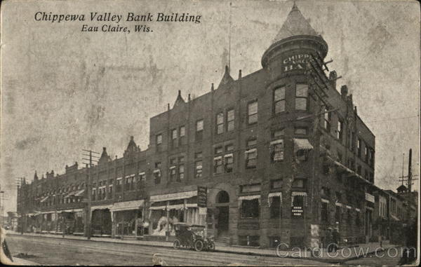 Chippewa Valley Bank Building Eau Claire Wisconsin