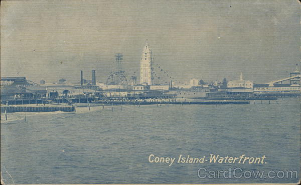 Coney Island Waterfront New York