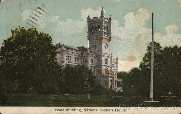 Scott Building, National Soldiers' Home Washington District of Columbia