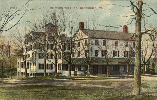 The Wallomsac Inn Bennington Vermont