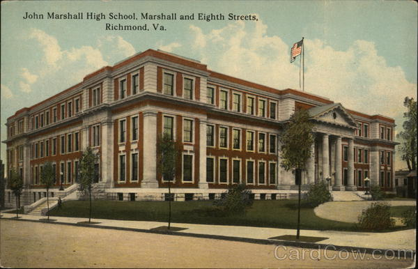 John Marshall High School Richmond Virginia