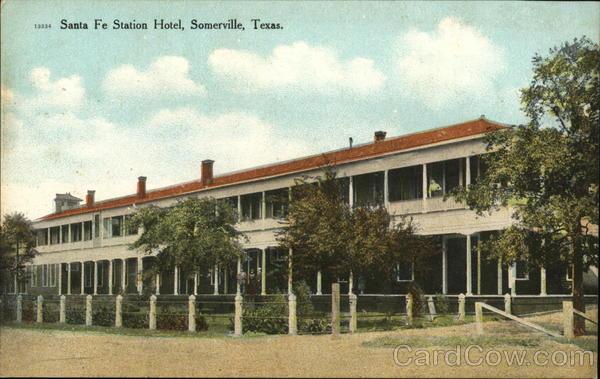 Santa Fe Station Hotel Somerville Texas