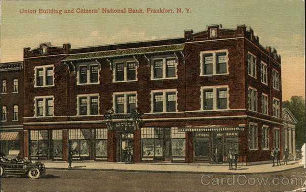 Union Building and Citizens' National Bank Frankfort Kentucky