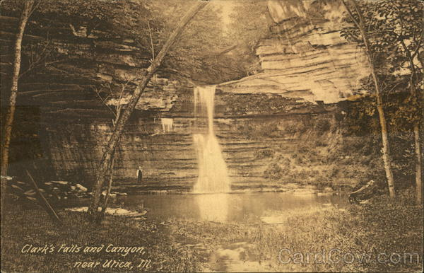 Clark's Falls and Canyon Utica Illinois