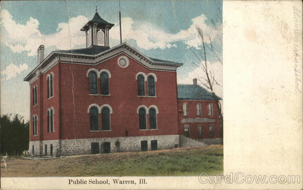 Public School Warren Illinois