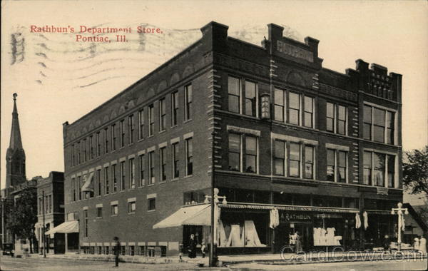 Rathbun's Department Store Pontiac Illinois