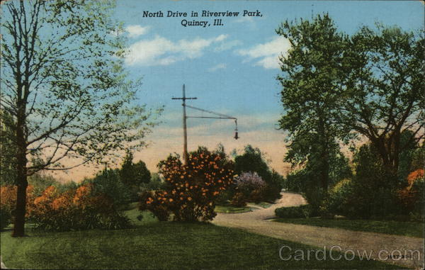 North Drive in Riverview Park Quincy Illinois