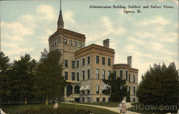 Soldiers and Sailors Home - Administration Building Quincy Illinois
