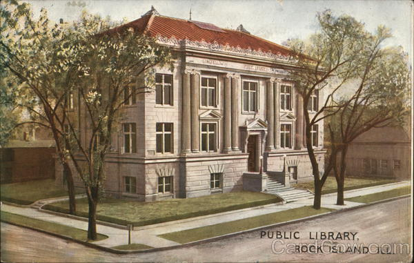 Public Library Rock Island Illinois