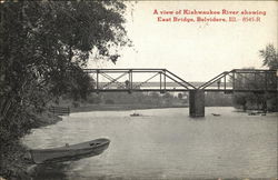 Kishwaukee River and East Bridge