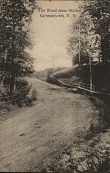 The Road from Station