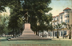 St. James Hotel and McKinley Monument, St. James Park