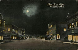 Main Street at Night, Portersville