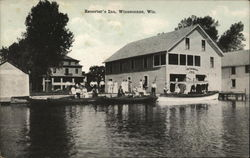 Resorter's Inn Postcard