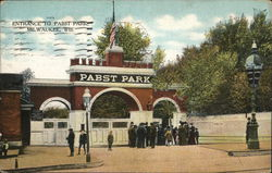 Entrance to Pabst Park