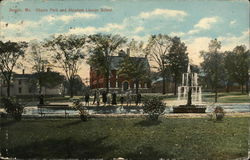 Chapin park and Abraham Lincoln School