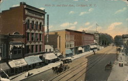 Main St. and East Ave.