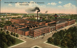 Home Office and Laboratories, Eli Lilly & Company