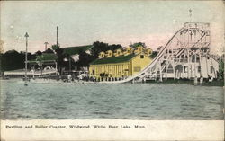Pavilion and Roller Coaster, Wildwood