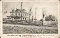 A Ranch Home Near Corvallis, Montanta