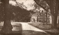 Wayside Inn, from the East Postcard