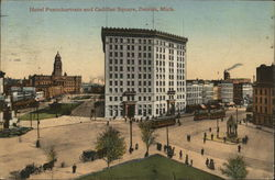 Hotel Pontchartrain and Cadillac Square