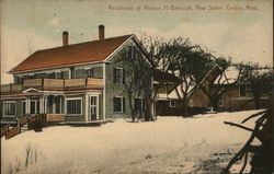 Residence of Alonzo H. Bancroft