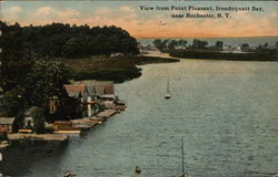 View from Point Pleasant, Irondequoit Bay