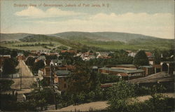 Birdseue View of Germantown, Suburb of Port Jervis