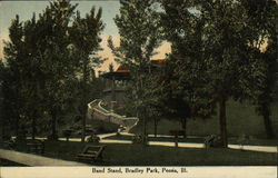 Band Stand, Bradley Park, Peoria, Ill.
