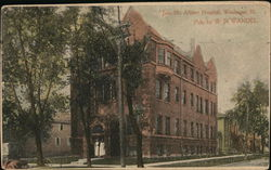 Jane McAllister Hospital Postcard
