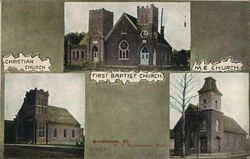Christian, First Baptist and M. E. Churches
