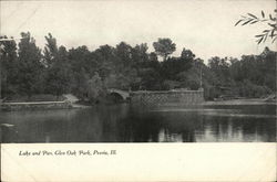 Lake and Pier, Glen Oak Park